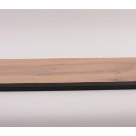 Progil angle alu noir 12 x 25