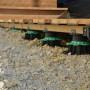 Plot de terrasse réglable de 50 à 80 mm