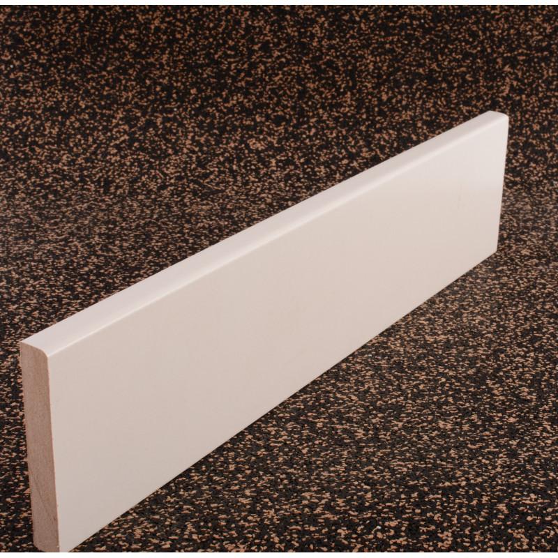 Plinthe papier blanc 14 x 80 x 2200